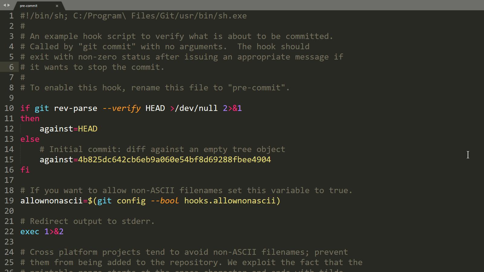 Git hooks, practical uses yes, even on Windows   tygertec